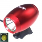 ZHISHUNJIA LT1D-R 1000lm 3-Mode White LED Bicycle Light Lamp w/ Bike Mount - Red (4 x 18650)