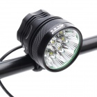 ZHISHUNJIA SHQ-9 5400lm 3-Mode White Bicycle Light w/ 9-LED XM-L T6