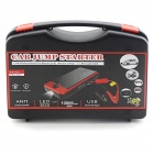 Minifish Car Emergency 12000mAh Jump Starter - Black + Red (12V)