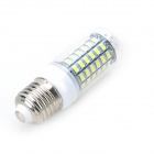 E27 12W LED žárovka kukuřice 69-SMD 5730 Cold White Light 1200lm 6500 (5ks)