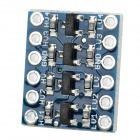 4-Channel 3.3V / 5V Logic Level Converter Module - Dark Blue