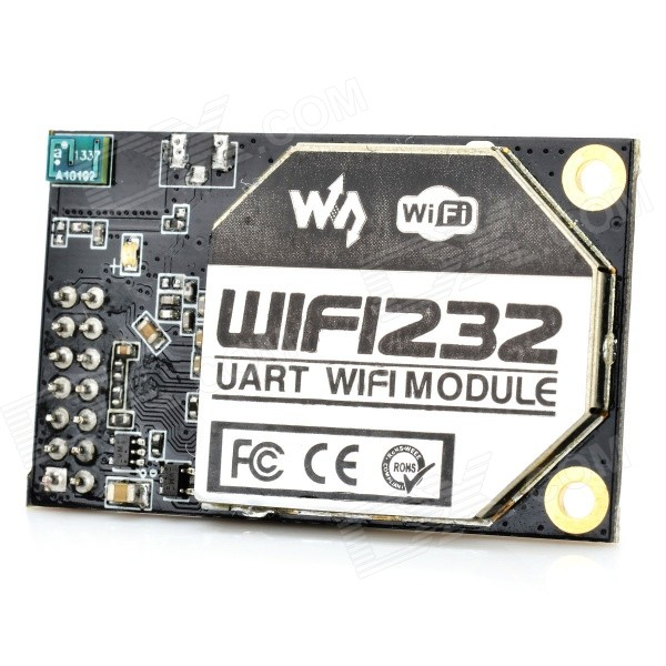 Waveshare WIFI232-A Wi-Fi to RS232 Module w/ Built-in Antenna - Black