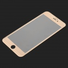 titanlegering + herdet glass film for iPhone 6 - champagne gull
