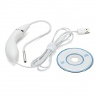 USB 2.0 5.5mm 6-LED Handheld Endoscope - White + Silver