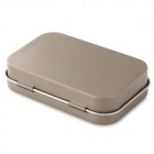 EDCGEAR Small Metal Storage Box Case for Cigarette - Sand Color