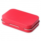 EDCGEAR Small Metal Storage Box Case for Cigarette - Red