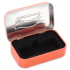 EDCGEAR Small Metal Storage Box Case for Cigarette - Orange