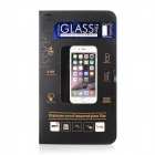 Titanium Alloy + Tempered Glass Clear Screen Guard for IPHONE6 - Black