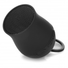 S-what Mini Portable Pea Style Bluetooth V3.0 Speaker / Self-timer - Black