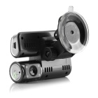 "JS-C188 2.0"" TFT CMOS 170' Wide-Angle IR Night Vision Car DVR - Black"