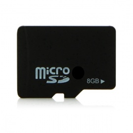 8GB Class 4 SD Memory Card - Black