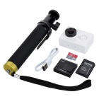 Xiaomi Xiaoyi 16MP Sports Camera w/ Monopod,Travel Kit+16GB TF - White