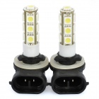 H11 3W LED Car Brake / Backup / Headlamp / Decoration Light White 6000K 120lm SMD 5050 (12V / 2PCS)