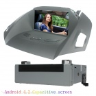 "LsqSTAR 8"" Android 4.2 Car DVD Player w/ GPS Radio Canbus RDS WiFi BT AUX SWC for Ford Kuga 2013"