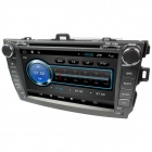 "LsqSTAR 8"" 2 Din Android4.2 Car DVD Player w/ GPS WiFi IPOD FM RDS SWC for Toyota Corolla 2007-2011"