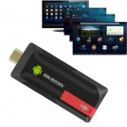 MK809IV Google TV Player w/ 2GB RAM, 8GB ROM - Black + Red (EU Plug)