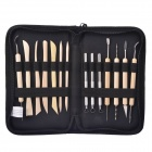 NEJE JS017-1 14-in-1 Pottery Clay Molding Carving Sculpting Tool Set