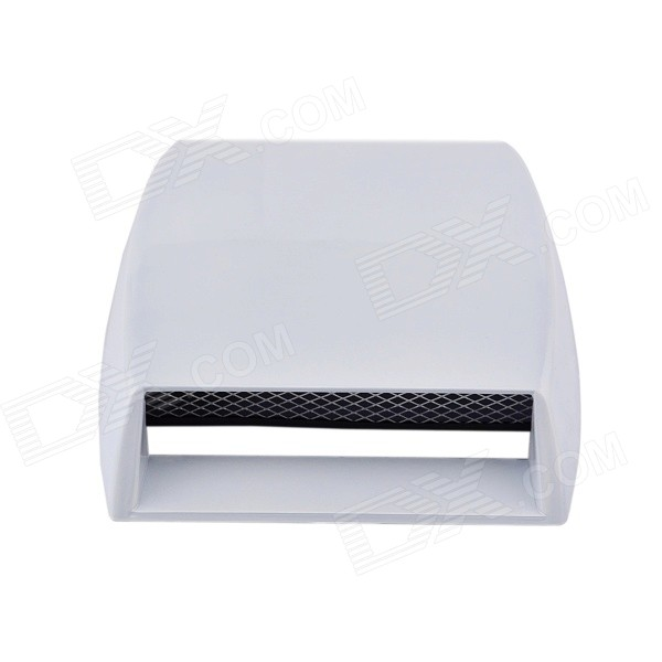 XY701 DIY Modified Engine / Air Flow Vent Car Sticker - White