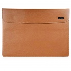 "OUSHINE Laptop Computer Liner Sleeve Leather Bag for 11"" / 11.6"" MACBOOK AIR / PRO - Brown"