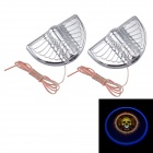DIY Universal 3W 30lm 3000K Warm White LED Car Door Projection Welcome Shadow Light Lamp (2PCS)