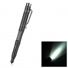 EDCGEAR Outdoor Emergency Survival Self-Defense Tactical Pen w/ 60lm XP1 LED Light - Black (1 x AAA)
