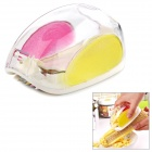 Kitchen Magic Manual ABS + Stainless Steel Corn Stripper - White + Yellow