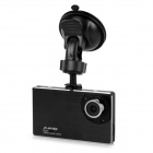 "9mm Ultra-thin 2.7"" 1080P Full HD CMOS 120' Wide-Angle LED Night Vision Car DVR Camcorder - Black"