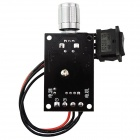 PWM DC6~28V 3A Motor Speed Control Reversible Switch Regulator - Black