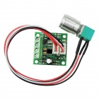 ZnDiy-BRY 1803BKW 2A DC Motor Speed Controller Switch Variable Speed Regulator - Green (DC 1.8~12V)