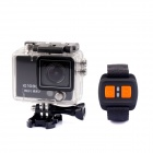 "PANNOVO AT300 2"" ActionCam Full HD 1080P 12.0MP Camera Camcorder DVR w/ Wi-Fi / Remote Control"