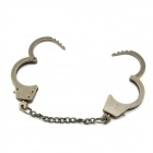 Creative Handcuffs Style Key Ring - Gun Color