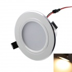 KINFIRE 5W  LED Ceiling Light 420lm 3000K 10-SMD 5730 Warm White w/ LED Driver - White (AC 85~265V)