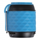 Aoluguya X-10 Mini Bluetooth V3.0 Speaker w/ Mic, Hands-Free, TF Card Slot - Blue