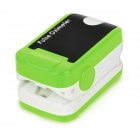 "1.1"" OLED SPO2 Fingertip Pulse Oximeter Heart Rate Monitor - Green"