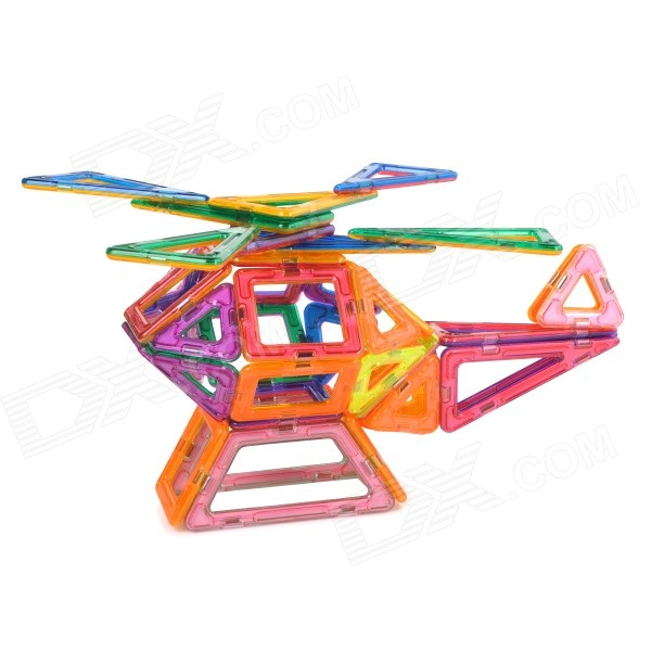 M62 Educational Magnetic Assembling Toy for Children - Multicolored