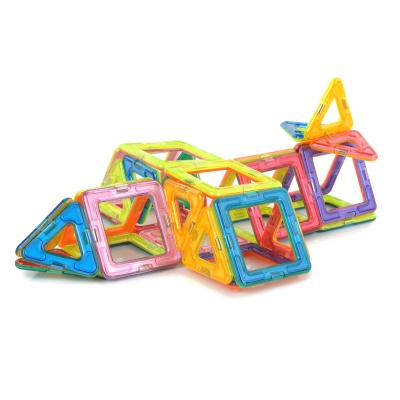 M30 Brain Magnetic Construction Piece Toy for Kids - Multicolored