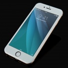 Titanium Alloy + Tempered Glass Film for IPHONE 6 PLUS - Silver White