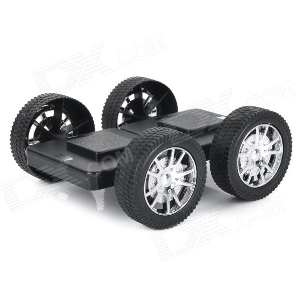 M-01 Educational Magnetic Assembling Toy Car Wheel Accessory - Black