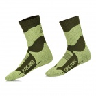NatureHike Herren Warm Atmungsaktiv Quick-Dry Outdoor Sports Socken - Armee-Grün (2 Paar)