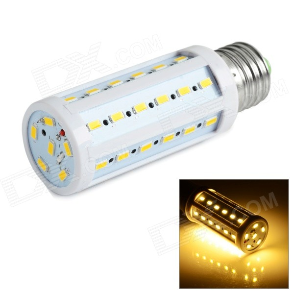 E27 9W LED Corn Lamp Bulb Warm White Light 3000K 810lm 42-SMD 5730 - White (AC 220~240V)