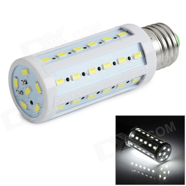 E27 9W 5730 SMD 42-LED Lamp Bulb Cold White Light 900lm (AC 85~265V)