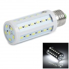 E27 9W LED Corn Lamp Bulb White Light 6500K 810lm 42-SMD 5730 - White (AC 220~240V)