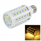 E27 12W Warm White 60-SMD LED Corn Light Bulb 3000K 1000lm - White