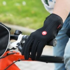 NatureHike Full-Finger Touch Screen Cycling Gloves - Black (M)