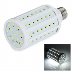 E27 15W LED Corn Lamp Bulb White Light 6500K 700lm 84-SMD 5730 - White (AC 220~240V)