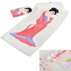 YU315 Beauty Print Magic Fun Color Changing Cotton Towel - White