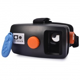 """NEJE VR 3D Glass w/ Bluetooth Controller for 3.5~6"""" Phone - Black"""