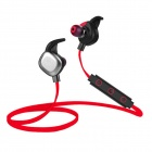 Morul U5 Smart Sports Music Bluetooth V4.1 Earhook Earphones Headset w/ Mic. & NFC - Red