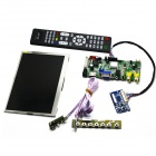 "7"" 1024 x 600 Digital TFT LCD Screen + Driver Board for PC/Banana Pi/ Raspberry Pi/ Pcduino - Black"