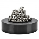 Creative Stress Releasing Magnetic Balls Set - Black + Silver